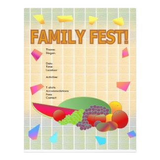 Insecto do Fest da família Modelo De Panfleto