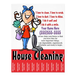 Insecto do marketing da limpeza da casa panfleto personalizados