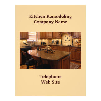 Insecto do negócio da cozinha Remodeler4 Panfletos Personalizado