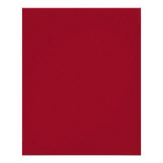 Insecto do vermelho de Borgonha Panfletos Personalizados
