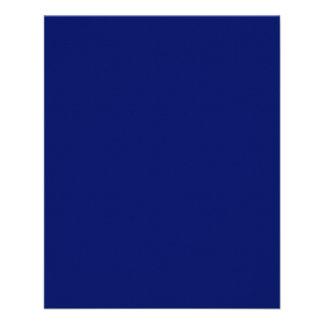 Insecto dos azuis marinhos panfletos personalizados