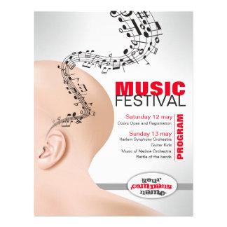 insecto para o evento musical flyer 21.59 x 27.94cm