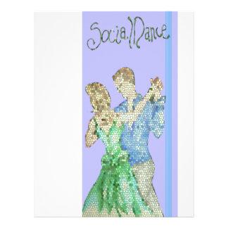 insecto social da dança panfletos personalizados