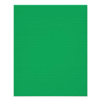 Insecto verde médio modelo de panfletos