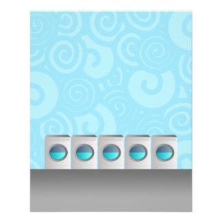 Insectos da lavagem automática panfleto coloridos