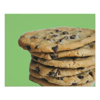 Insectos da venda do assar dos biscoitos dos pedaç flyer 11.43 x 14.22cm