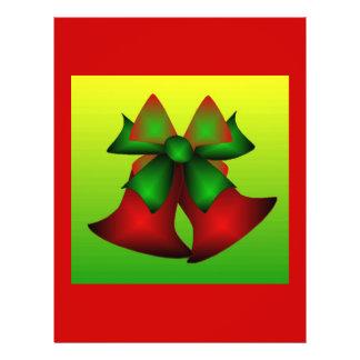Insectos de Bels de Natal III Panfleto Personalizados
