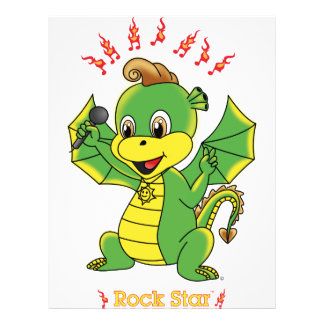 Insectos de Rockstar™ do dragão Panfletos Personalizado