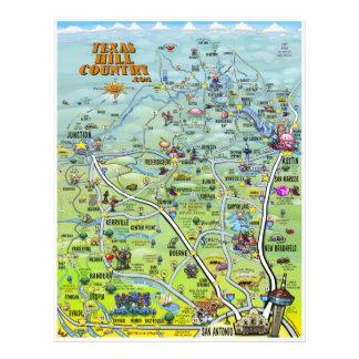 Insectos do país do monte panfleto personalizados