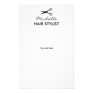Insectos feitos sob encomenda do cabeleireiro para flyer 13.97 x 21.59cm