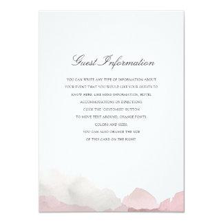 Inserção Debonair do casamento Convite 11.30 X 15.87cm