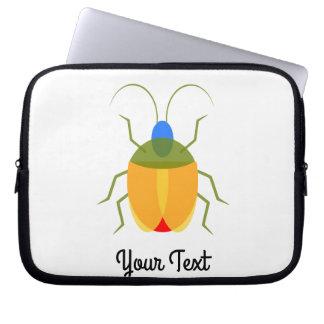 Inseto colorido sleeve para notebook