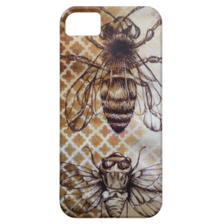 Inseto do vintage capa barely there para iPhone 5