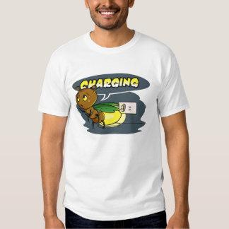 Inseto engraçado do vaga-lume dos desenhos camisetas