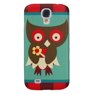 Inseto pequeno bonito design lunático Eyed do Galaxy S4 Case