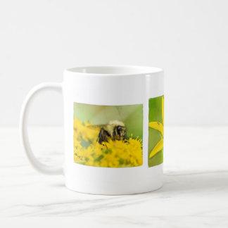Insetos e copo de café dos Wildflowers Caneca De Café