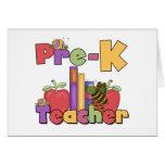 Insetos e professor de Pre-K das maçãs Cartoes