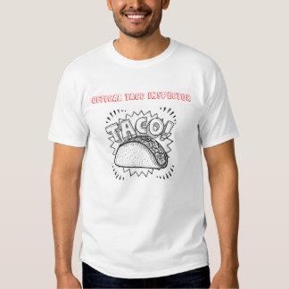 Inspector oficial do Taco T-shirts