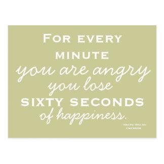 Inspiração da felicidade - cartão inspirador