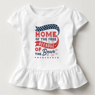 Inspiração em casa da camisa livre do dia de