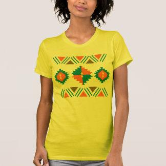 Inspiração étnica & tribal da forma t-shirts