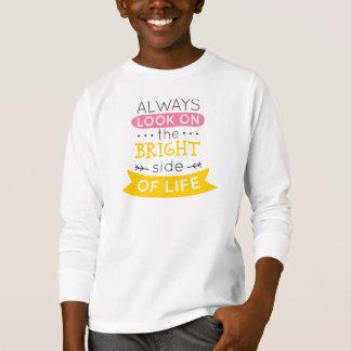 Inspirado a parte positiva de camisa da luva da