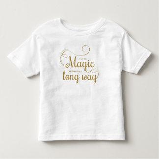 Inspirado pouca camisa mágica das citações  