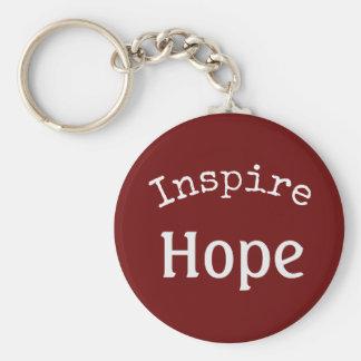Inspire o chaveiro da esperança