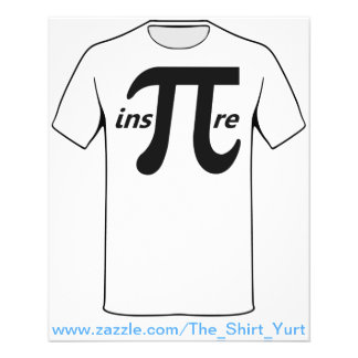 Inspire o símbolo inspirado do Pi Panfletos Personalizado