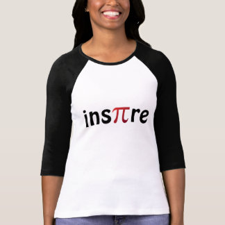 Inspire o t-shirt do geek da matemática camiseta