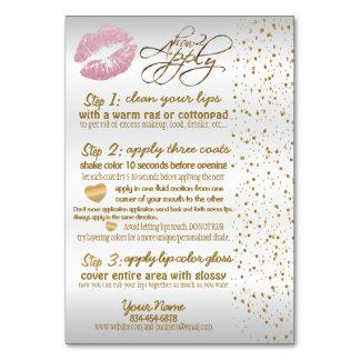 Instruções 2 do rosa & do bordo dos confetes do