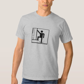 Instruções da evacuação (luz) t-shirt