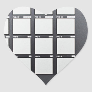 Instrumentals MPC Adesivo Coração