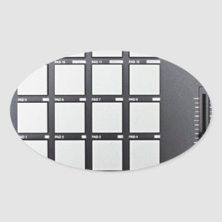 Instrumentals MPC Adesivo Oval