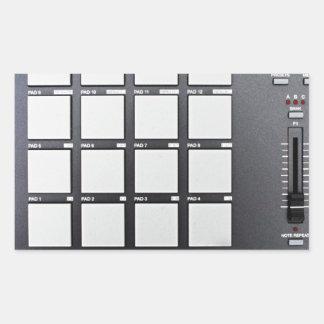 Instrumentals MPC Adesivo Retangular