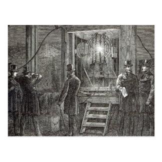 Instrumento elétrico para a torre de pulso de cartão postal