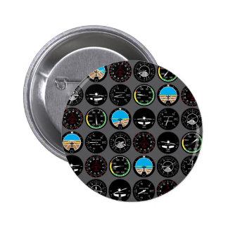 Instrumentos do vôo boton