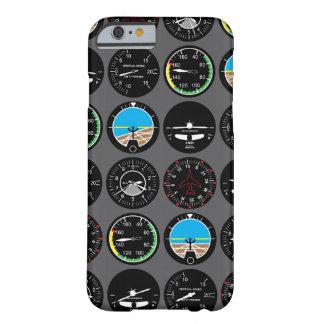 Instrumentos do vôo capa barely there para iPhone 6