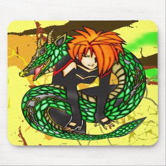 Instrutor do dragão mousepad