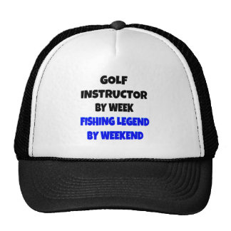Instrutor do golfe da legenda da pesca boné