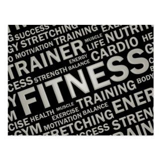 Instrutor ou cartão pessoal do fitness center