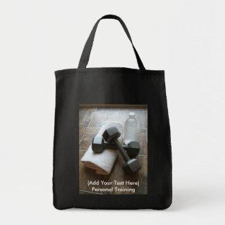 Instrutor ou toalha & água pessoal de Dumbells da  Bolsa Para Compra