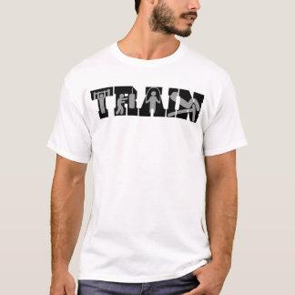 Instrutor pessoal do trem camiseta