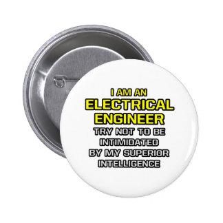 Inteligência superior do engenheiro electrotécnico botons