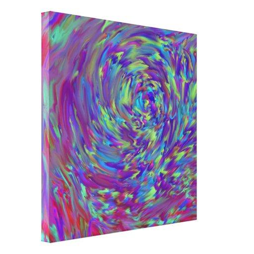 Interferência da cor - impressão das canvas impressão de canvas esticadas