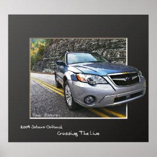 Interior 2009 de Subaru Poster