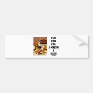 Interjection do verbo do substantivo da sobremesa  adesivos