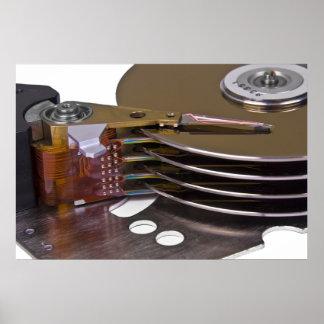 Internals de uma movimentação de disco rígido posters