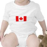 International da BANDEIRA de Canadá Macacãozinho