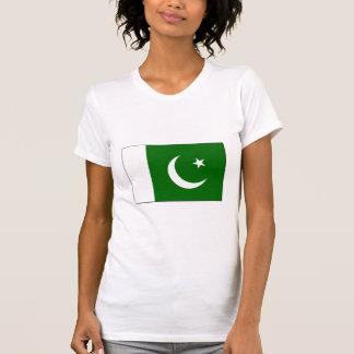 International da BANDEIRA de Paquistão T-shirt